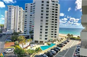 Photo of 3550 Galt Ocean Dr #508, Fort Lauderdale, FL 33308 (MLS # F10177598)