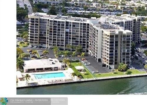 Photo of 600 Parkview Dr #802, Hallandale, FL 33009 (MLS # F10132603)