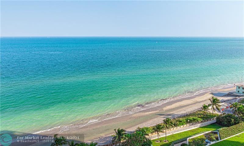 6051 N Ocean Dr #1602, Hollywood, FL 33019 - #: F10256604