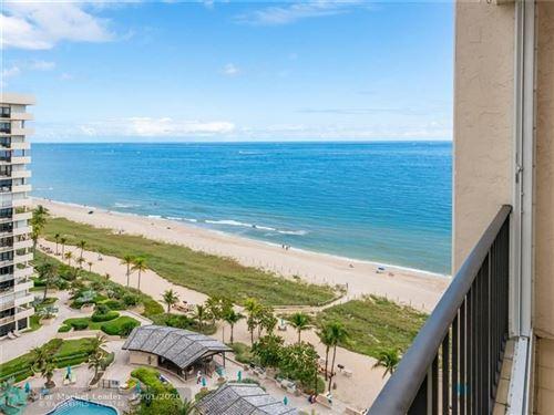 Photo of 4900 N Ocean Blvd #1606, Lauderdale By The Sea, FL 33308 (MLS # F10256605)