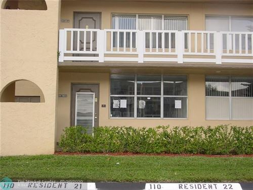 Photo of 9101 Sunrise Lakes Blvd #111, Sunrise, FL 33322 (MLS # F10217608)