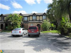 Photo of 9342 NW 49th Pl #9342, Sunrise, FL 33351 (MLS # F10185613)
