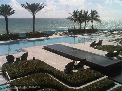 Photo of 2711 S Ocean Dr #3803, Hollywood, FL 33019 (MLS # F10286614)