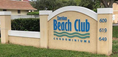Photo of 649 E Sheridan St #209, Dania Beach, FL 33004 (MLS # F10264615)