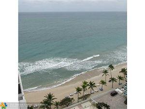 Photo of 3500 Galt Ocean Dr #1803, Fort Lauderdale, FL 33308 (MLS # F10122616)
