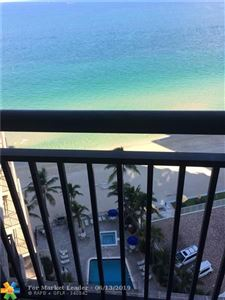 Photo of 3800 Galt Ocean Dr #1509, Fort Lauderdale, FL 33308 (MLS # F10119617)