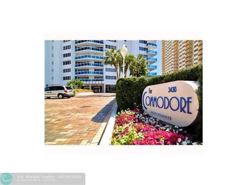 Photo of 3430 Galt Ocean Dr #1212, Fort Lauderdale, FL 33308 (MLS # F10206618)
