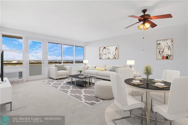 Photo for 3200 NE 36th St #1707, Fort Lauderdale, FL 33308 (MLS # F10221619)