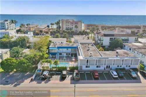 Photo of 4228 N Ocean Dr #9, Lauderdale By The Sea, FL 33308 (MLS # F10286620)