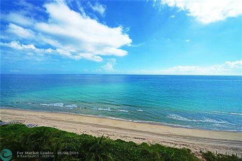 Photo of 1063 Hillsboro Mile #702, Hillsboro Beach, FL 33062 (MLS # F10257623)