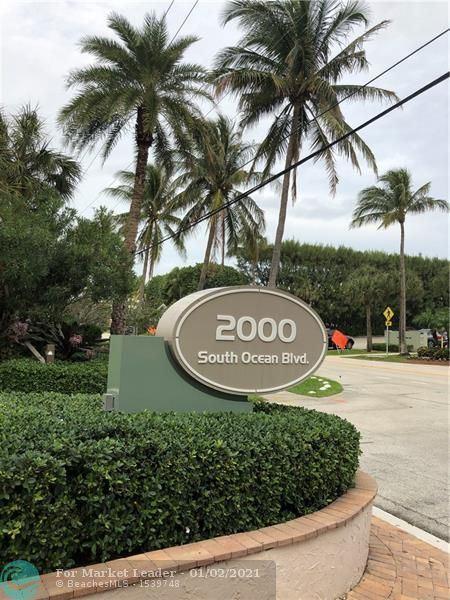 2000 S Ocean Blvd #404, Delray Beach, FL 33483 - #: F10262623