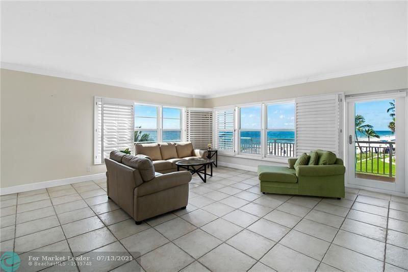 Photo of 3850 Galt Ocean Dr #201, Fort Lauderdale, FL 33308 (MLS # F10292623)