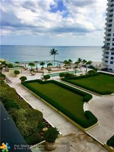 Photo of 4280 Galt Ocean Dr #5h, Fort Lauderdale, FL 33308 (MLS # F10152629)