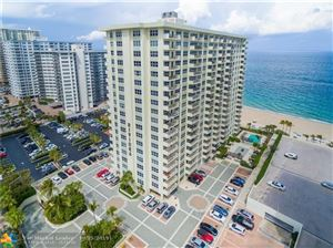 Photo of 3550 Galt Ocean Dr #206, Fort Lauderdale, FL 33308 (MLS # F10139631)