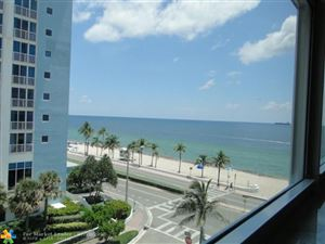 Photo of 209 N Fort Lauderdale Beach Blvd #5F, Fort Lauderdale, FL 33304 (MLS # F10133632)