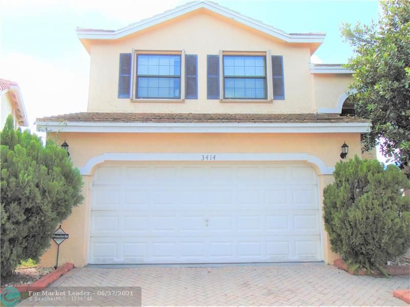 3414 NW 112th Way, Coral Springs, FL 33065 - #: F10290632