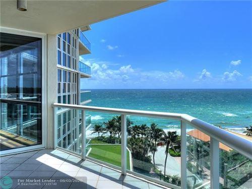 Photo of 6001 N Ocean Drive #704, Hollywood, FL 33019 (MLS # F10233633)