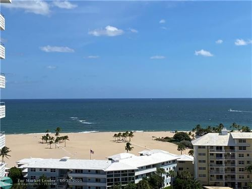 Photo of 1900 S Ocean Dr #1408, Fort Lauderdale, FL 33316 (MLS # F10305635)