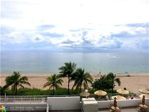 Photo of 4250 Galt Ocean Dr #3T, Fort Lauderdale, FL 33308 (MLS # F10189636)
