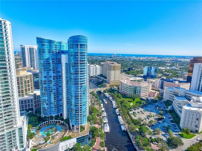 333 Las Olas Way #3204, Fort Lauderdale, FL 33301 - MLS#: F10261636