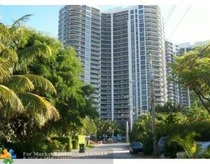 Photo of 3200 N OCEAN BL #807, Fort Lauderdale, FL 33308 (MLS # F10144637)