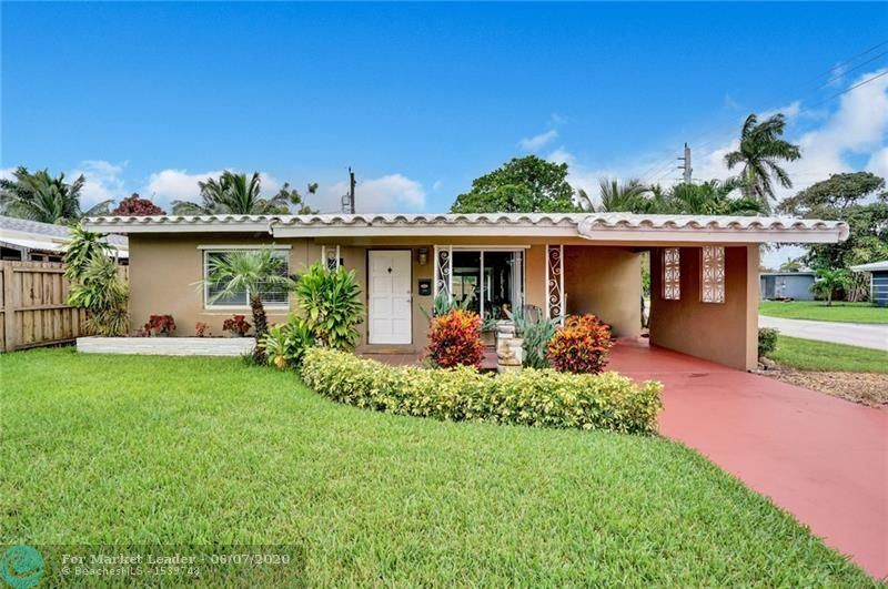 Photo of 280 NW 46th Ct, Oakland Park, FL 33309 (MLS # F10232641)