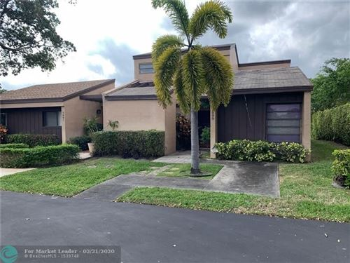 Photo of 3899 NW 94th Ave #3899, Sunrise, FL 33351 (MLS # F10217649)