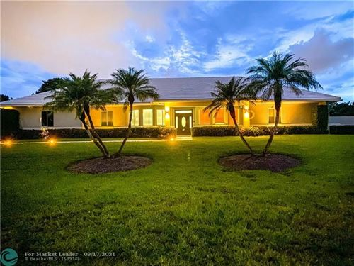 Photo of 7101 HOLATEE TRAIL, Southwest Ranches, FL 33330 (MLS # F10294649)