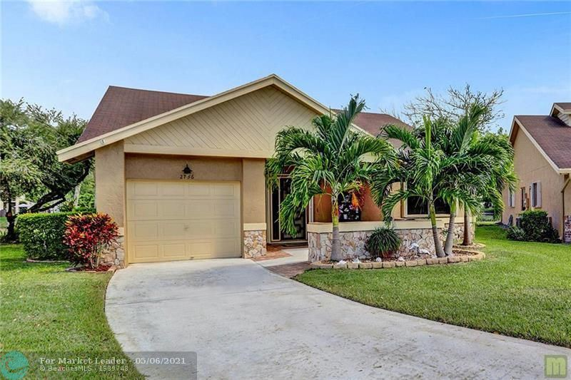 Photo of 2736 Calliandra Terrace, Coconut Creek, FL 33063 (MLS # F10282650)