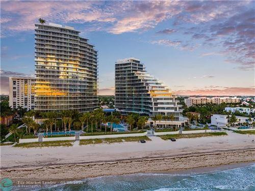 Photo of 2200 N Ocean Blvd #N1001, Fort Lauderdale, FL 33305 (MLS # F10298660)