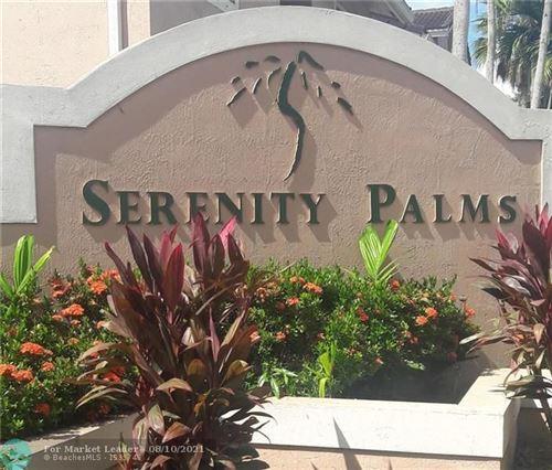 Photo of 3221 Sabal Palm Mnr #103, Davie, FL 33024 (MLS # F10295661)