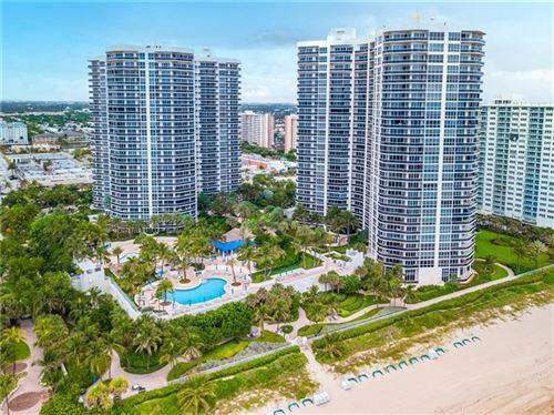 Photo of 3100 N Ocean Blvd #1502, Fort Lauderdale, FL 33308 (MLS # F10272662)