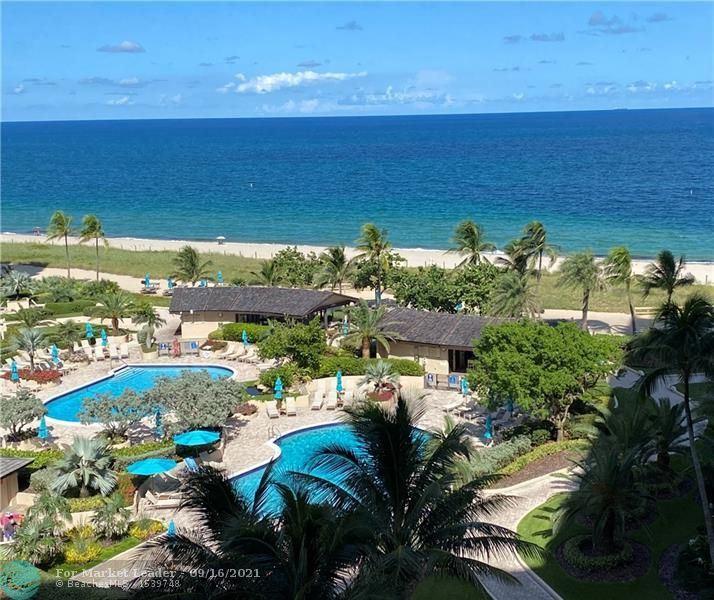 Photo of 4900 N Ocean Blvd #912, Lauderdale By The Sea, FL 33308 (MLS # F10300664)