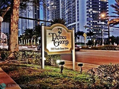 Photo of 1865 S OCEAN DR #7K, Hallandale, FL 33009 (MLS # F10253666)