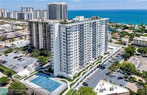 Photo of 3015 N Ocean Blvd #14J, Fort Lauderdale, FL 33308 (MLS # F10266670)