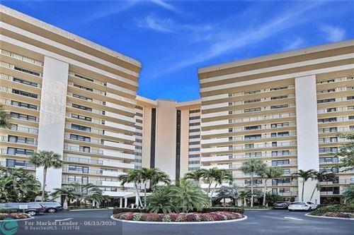 Photo of 5100 N Ocean Blvd #308, Lauderdale By The Sea, FL 33308 (MLS # F10220671)