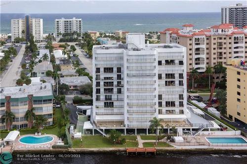Photo of 701 N Riverside Dr #903, Pompano Beach, FL 33062 (MLS # F10289674)