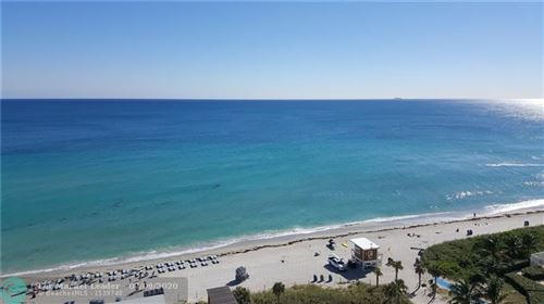 Photo of 4111 S Ocean Dr #201, Hollywood, FL 33019 (MLS # F10236675)