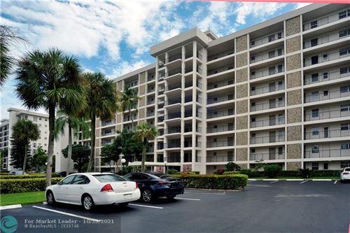 Photo of 3150 N Palm Aire Dr #607, Pompano Beach, FL 33069 (MLS # F10305675)