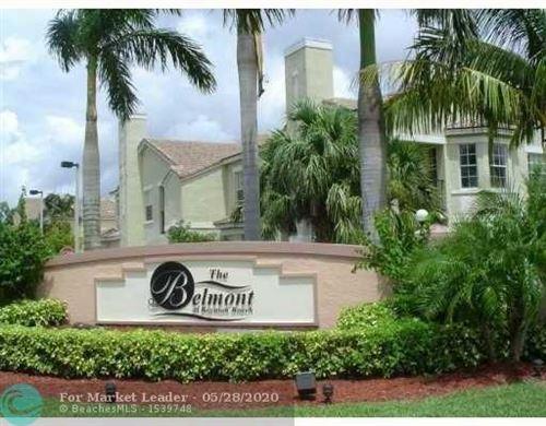 Photo of Listing MLS f10208678 in 708 Belmont Ln #708 North Lauderdale FL 33068