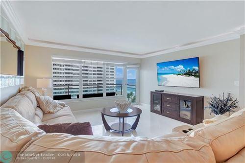 Photo of 3900 Galt Ocean Dr #715, Fort Lauderdale, FL 33308 (MLS # F10218680)