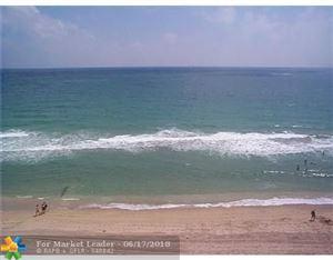 Photo of 3800 Galt Ocean Dr #1212, Fort Lauderdale, FL 33308 (MLS # F10127682)