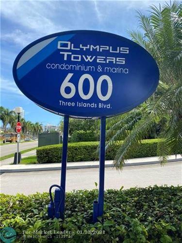 Photo of 600 Three Islands Blvd #306, Hallandale, FL 33009 (MLS # F10254683)