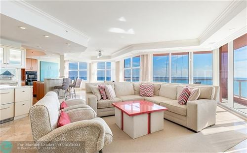 Photo of 2100 N Ocean Blvd #14E, Fort Lauderdale, FL 33305 (MLS # F10257683)