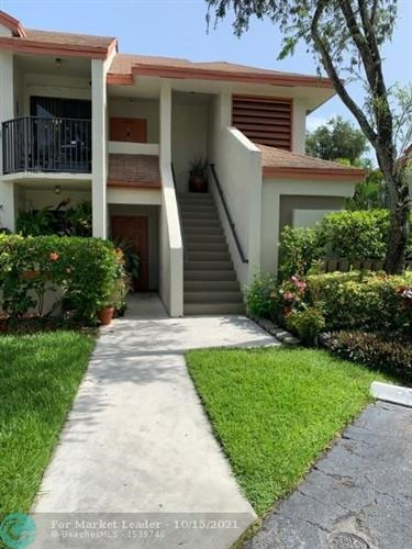 Photo of 5552 Courtyard Dr #5552, Margate, FL 33063 (MLS # F10304683)