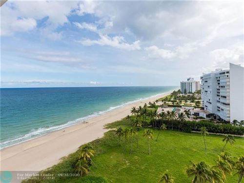 Photo of 1370 S Ocean Blvd #1402, Pompano Beach, FL 33062 (MLS # F10250688)