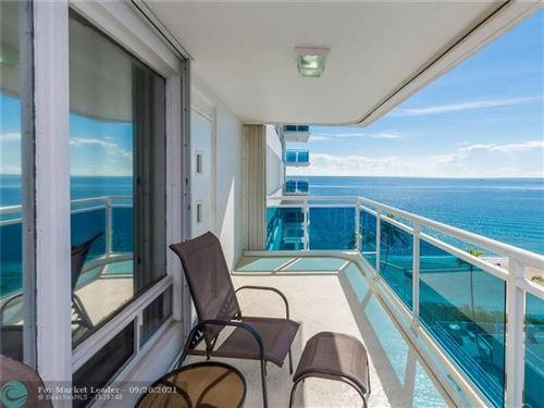 Photo of 3430 Galt Ocean Drive #808, Fort Lauderdale, FL 33308 (MLS # F10301690)
