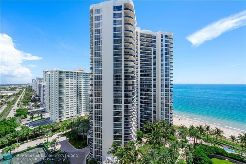3100 N Ocean Blvd #1705, Fort Lauderdale, FL 33308 - #: F10291690