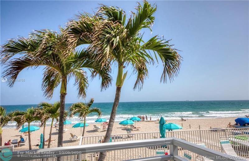 Photo of 3750 Galt Ocean Dr #101, Fort Lauderdale, FL 33308 (MLS # F10252691)