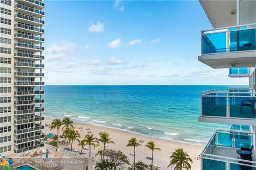 Photo of 3430 Galt Ocean Dr #904, Fort Lauderdale, FL 33308 (MLS # F10211692)